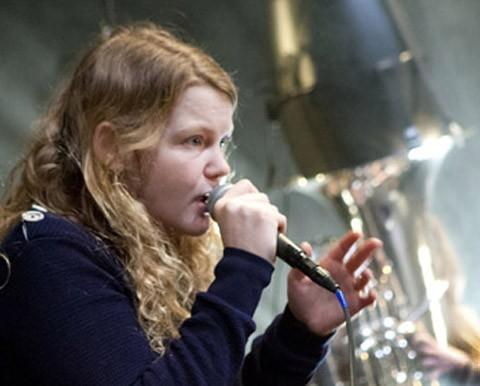 "Kate Tempest's ""Brand New Ancients"" 2014 – Photo by Pavel Antonov"