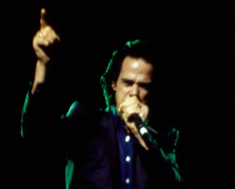 "Nick Cave ""The Harry Smith Project"" 1999 – Photo by Jacqueline Kim"