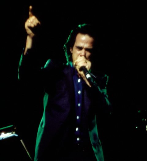 """Nick Cave """"The Harry Smith Project"""" 1999 – Photo by Jacqueline Kim"""