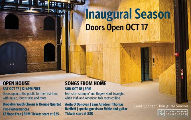 St  Ann's Warehouse Open House - Brooklyn Youth Chorus